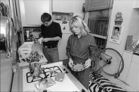 Deborah Harry in the kitchen photo