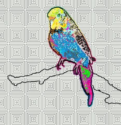 80s-computer-art-parakeet