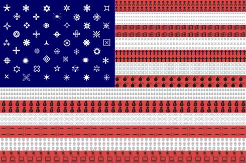 ding-bats-american-flag