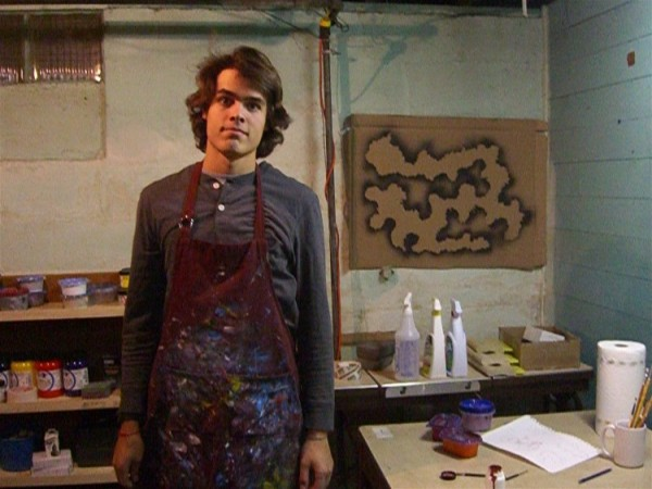 Photo of Will Thomas, graphic designer and artist
