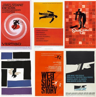 Posters of Saul Bass