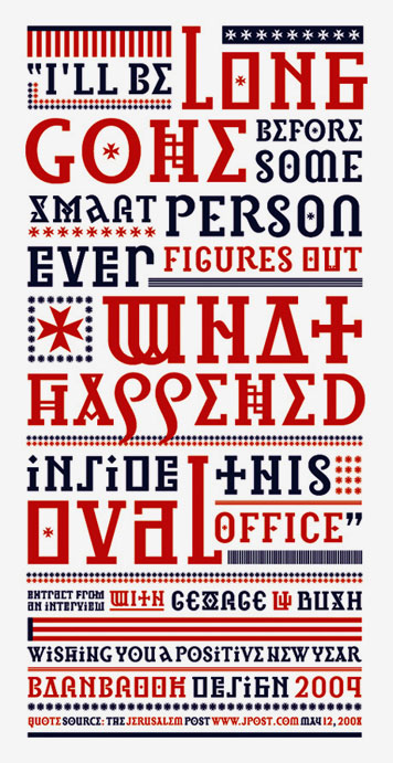George-Bush-typography-quote-Barnbrook