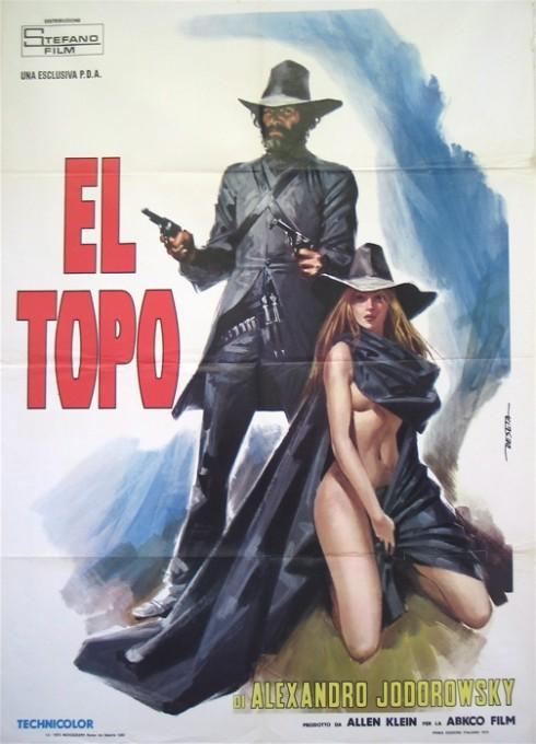 el-topo-poster-girl
