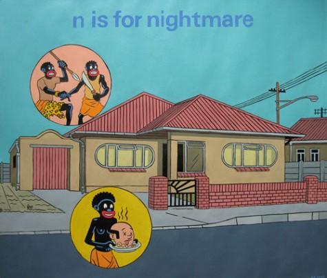 Anton-Kannemeyer-n-is-for-nightmare