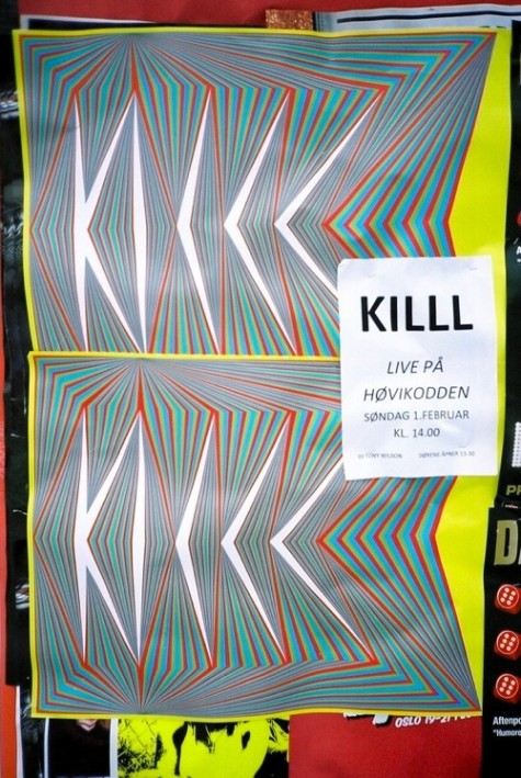 KILLL-poster-are-mokkelbost