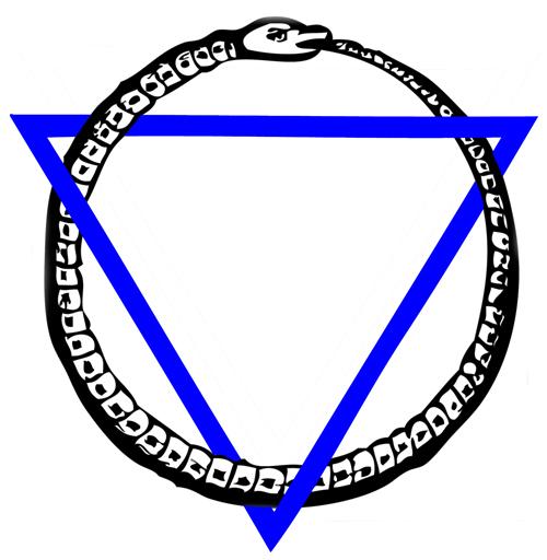 Ouroboros-snake-Triangle-Weave-Sm