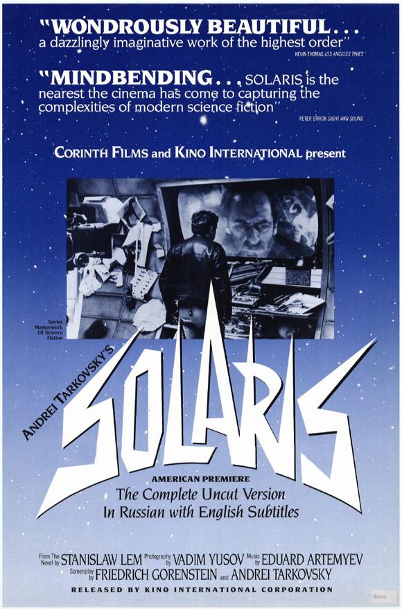 Andrei Tarkovsky Solaris Solaris poster us version Tarkovsky Nostalghia