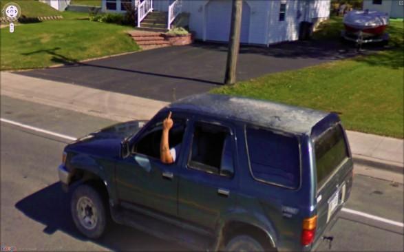 9-eyes, google street views art project by Jon Rafman.
