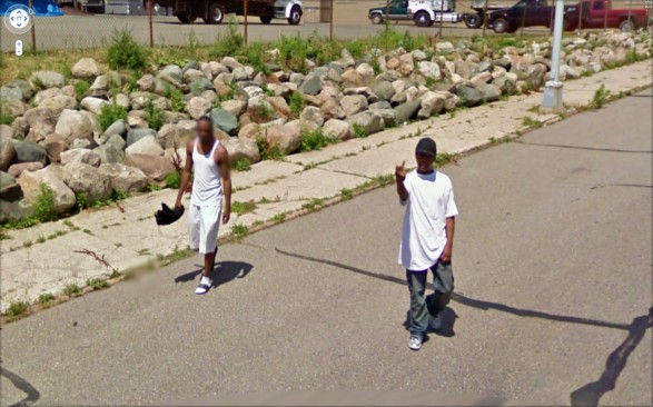 9-eyes Google Street Views art project by Jon Rafman