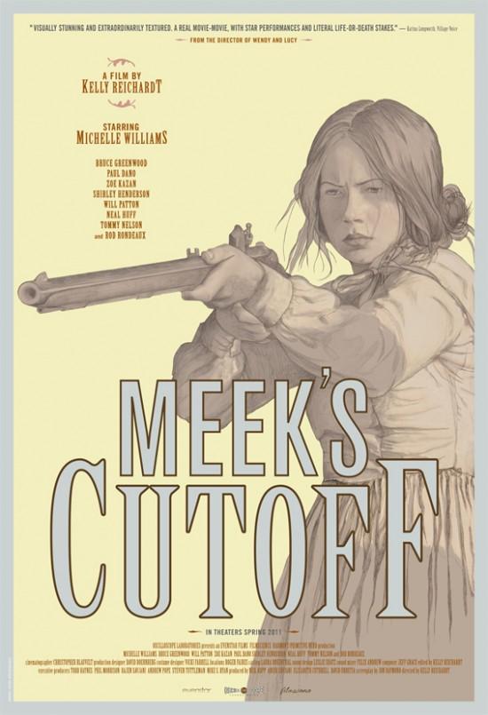 movie poster for Kelly Reichardt's Meek's Cutoff (2010)
