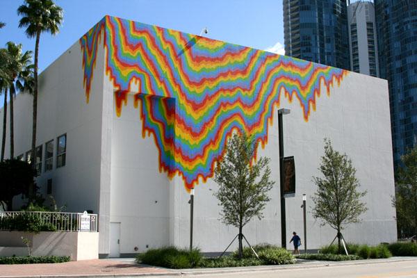 Acid Free A Mural By Jen Stark Dinca