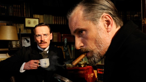 Michael Fassbender & Viggo Mortensen in A Dangerous Method (2011).