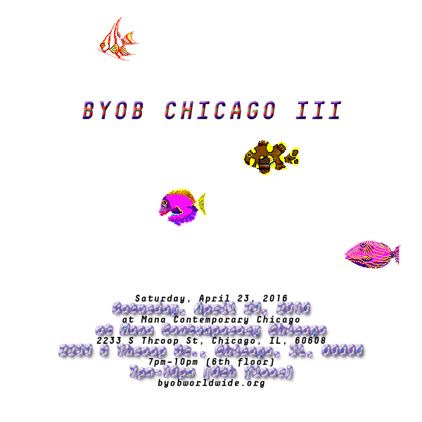 BYOB Bring your own beamer Chicago 2016
